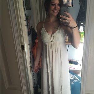 Ark & Co cream Maxi Dress